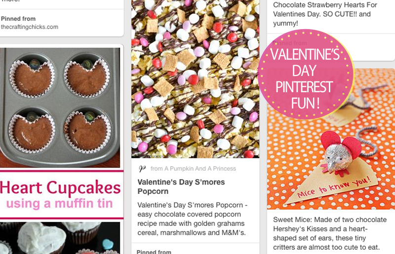 Valentine's Day Pinterest Day